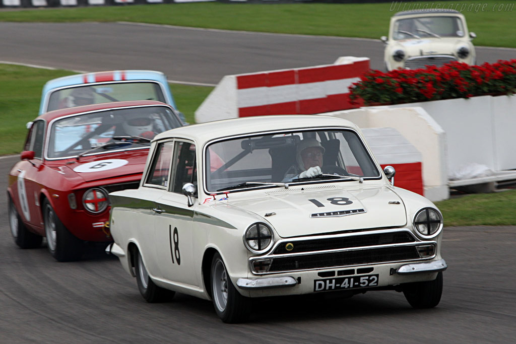Lotus Cortina  - Driver: Stirling Moss  - 2007 Goodwood Revival