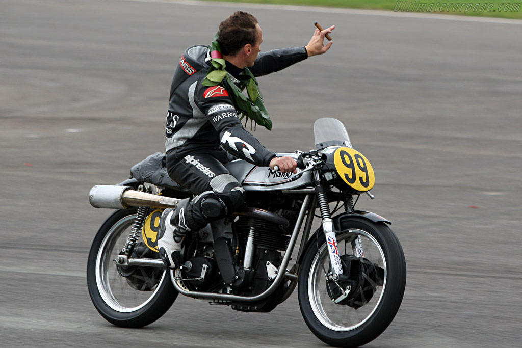 Manx Norton    - 2007 Goodwood Revival