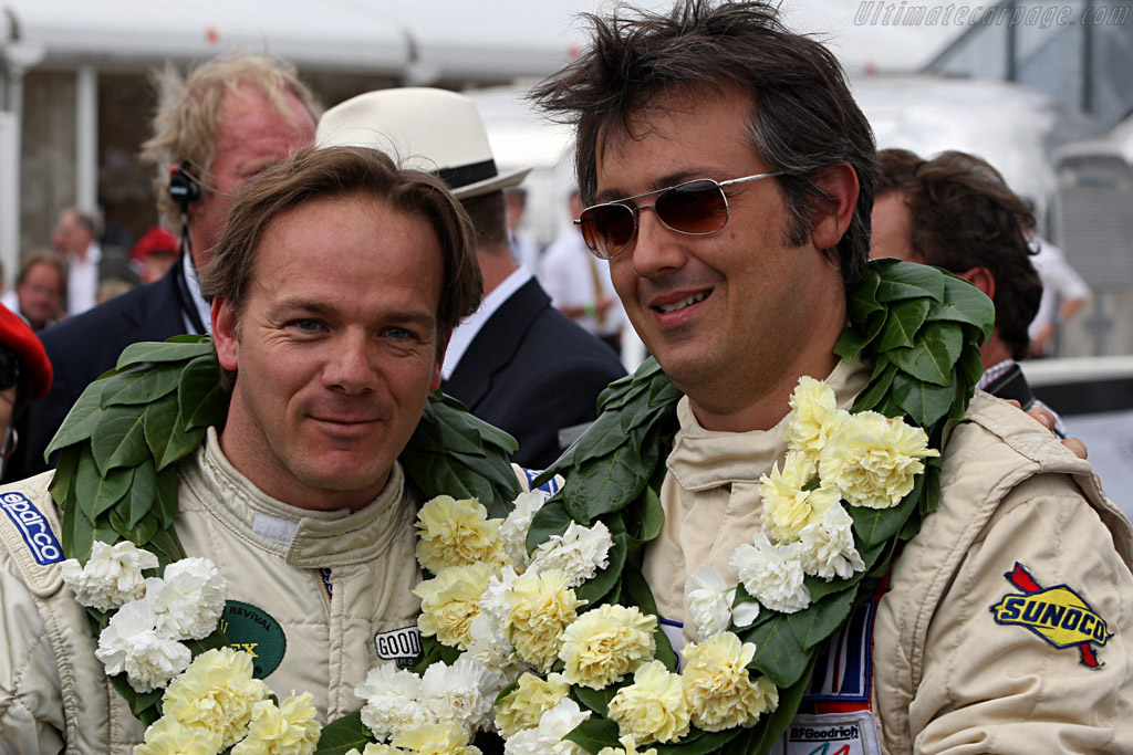 Michael Vergers & Juan Barazi    - 2007 Goodwood Revival