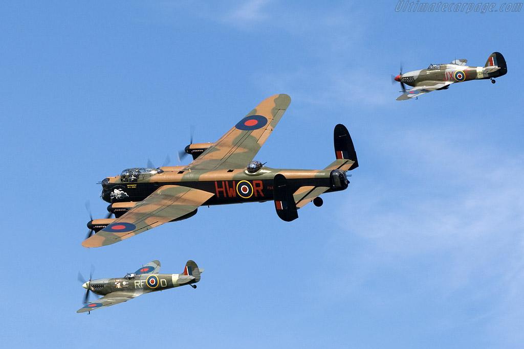 Battle of Britain Memorial Flight    - 2008 Goodwood Revival