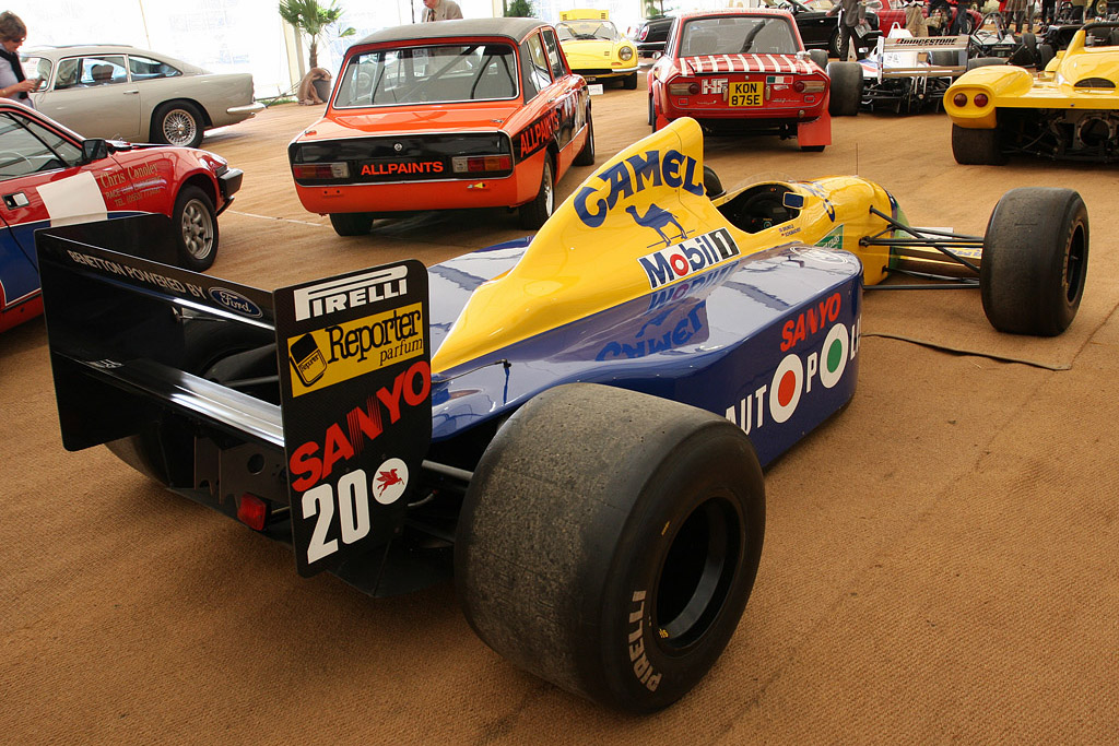 Benetton B190    - 2008 Goodwood Revival