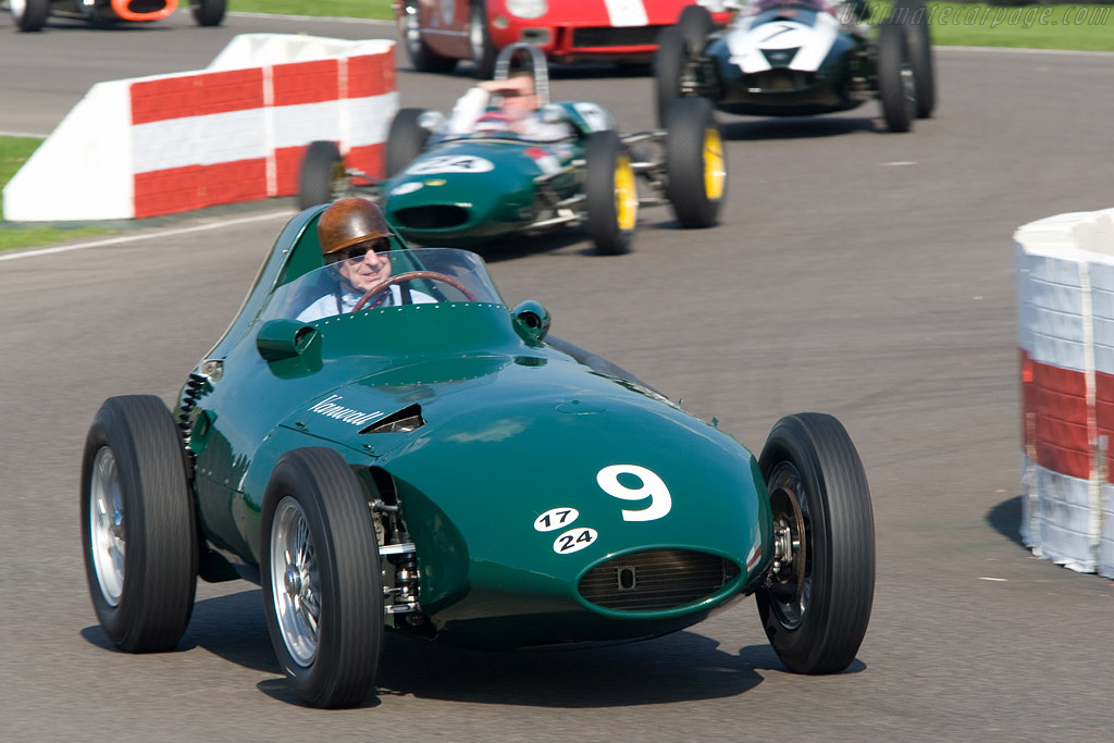 Brooks was a Vanwall Works Driver    - 2008 Goodwood Revival