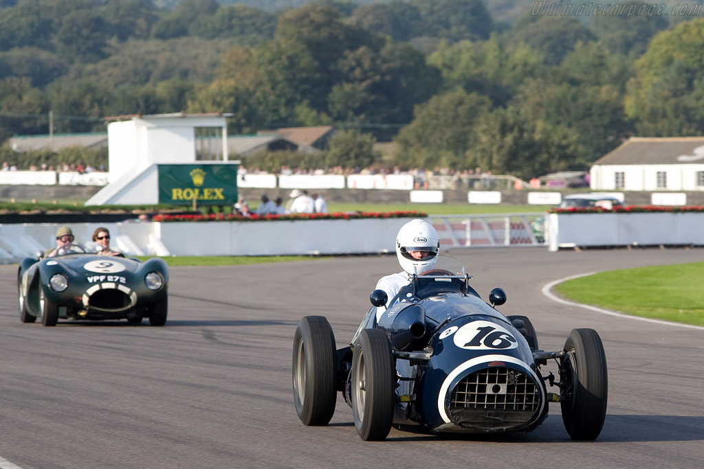 Connaught A-Type - Chassis: A3   - 2008 Goodwood Revival