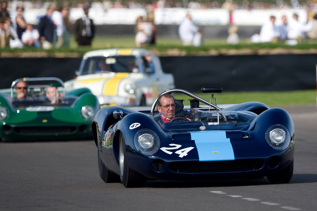 David Hobbs in the T70 he debuted at Goodwood - Chassis: SL70/2   - 2008 Goodwood Revival