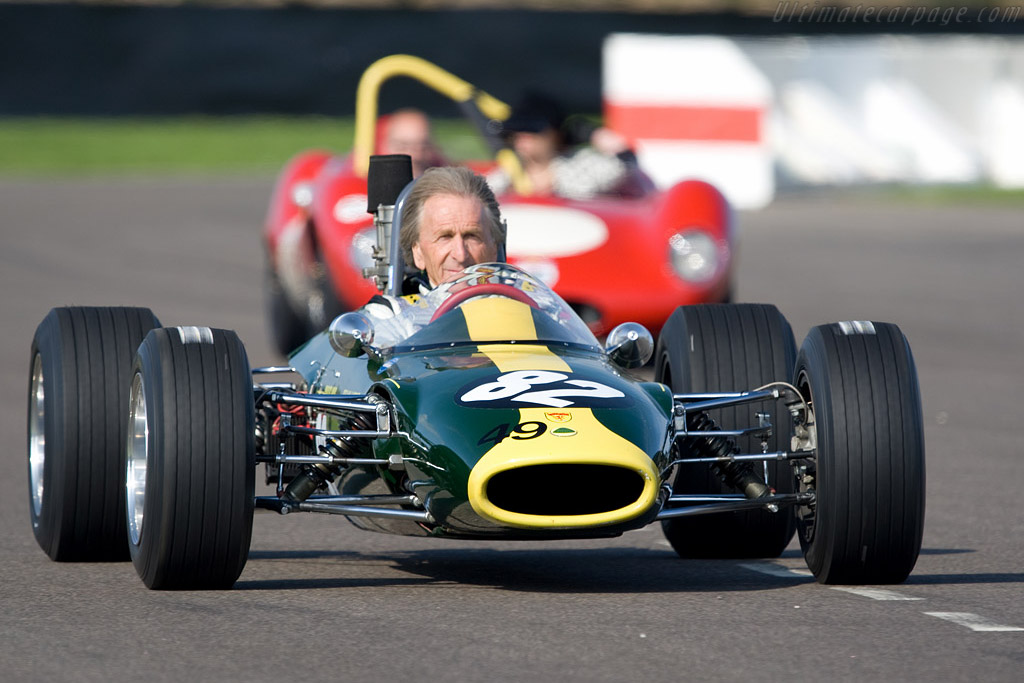 Derek Bell won for the first time at Goodwood    - 2008 Goodwood Revival