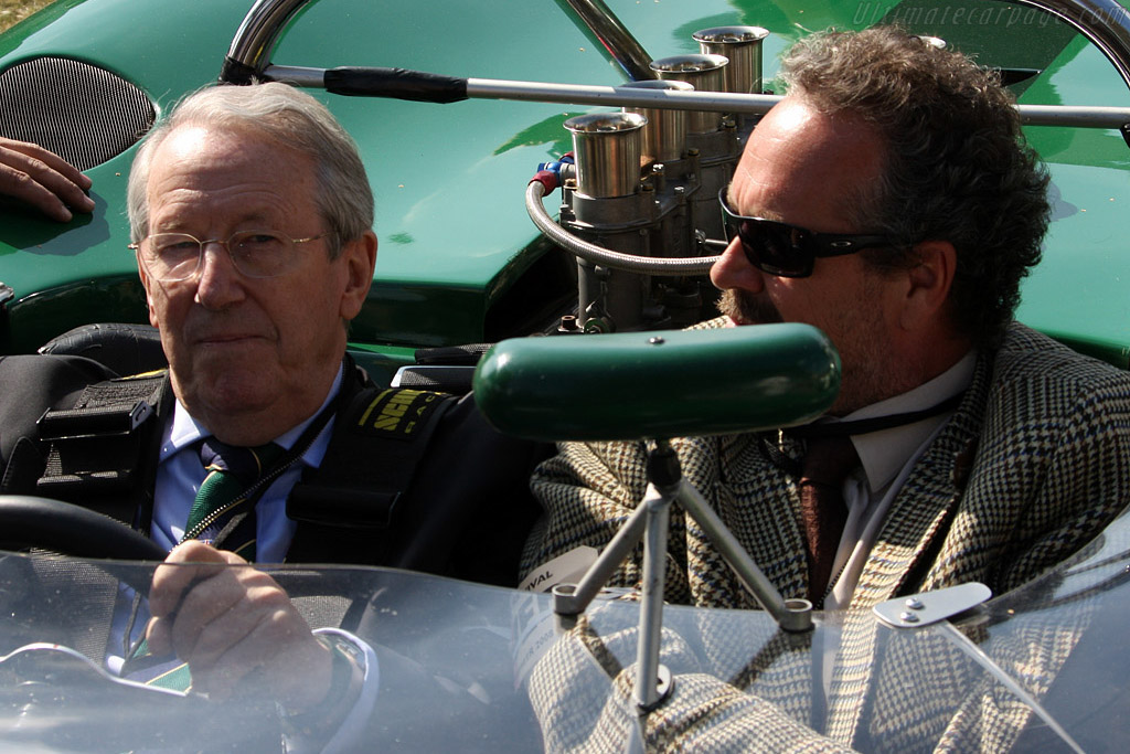 Dibley recorded the first 100mph lap in a sports car at Goodwood    - 2008 Goodwood Revival