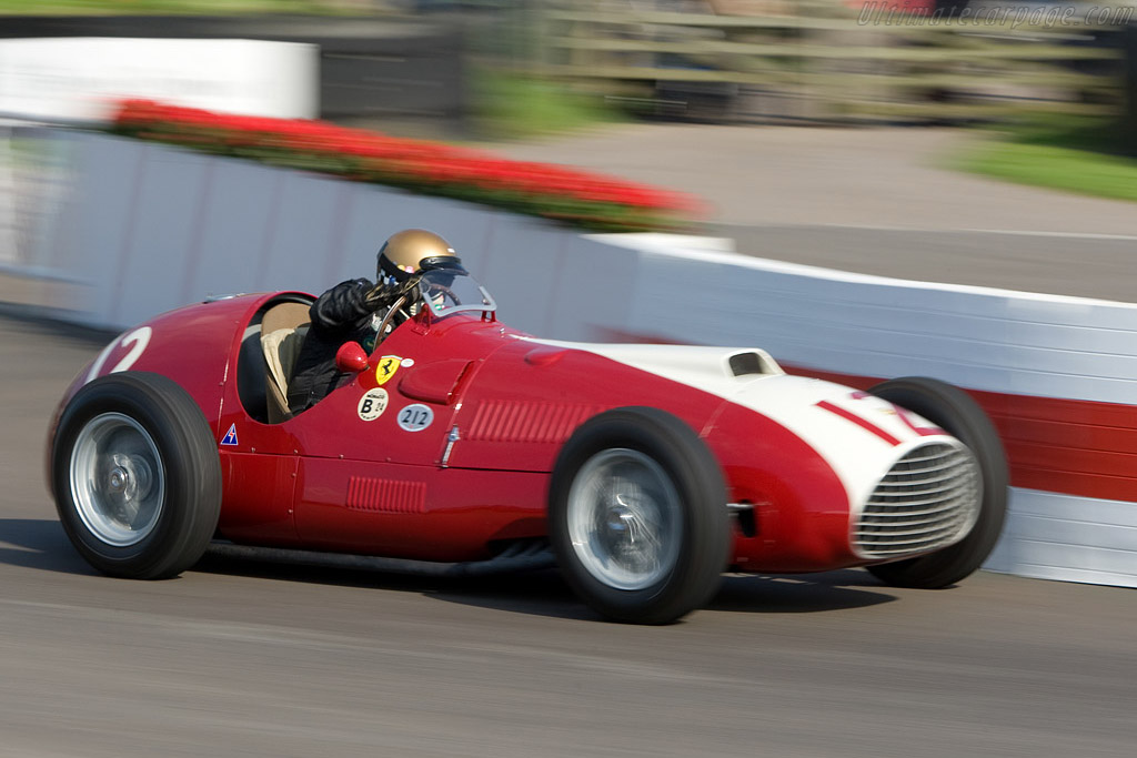 Ferrari 212 F1 - Chassis: 102   - 2008 Goodwood Revival