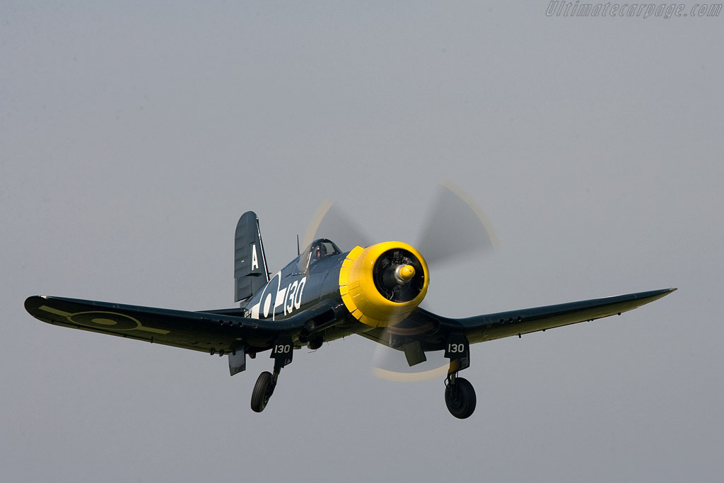 Goodyear FG1D Corsair    - 2008 Goodwood Revival