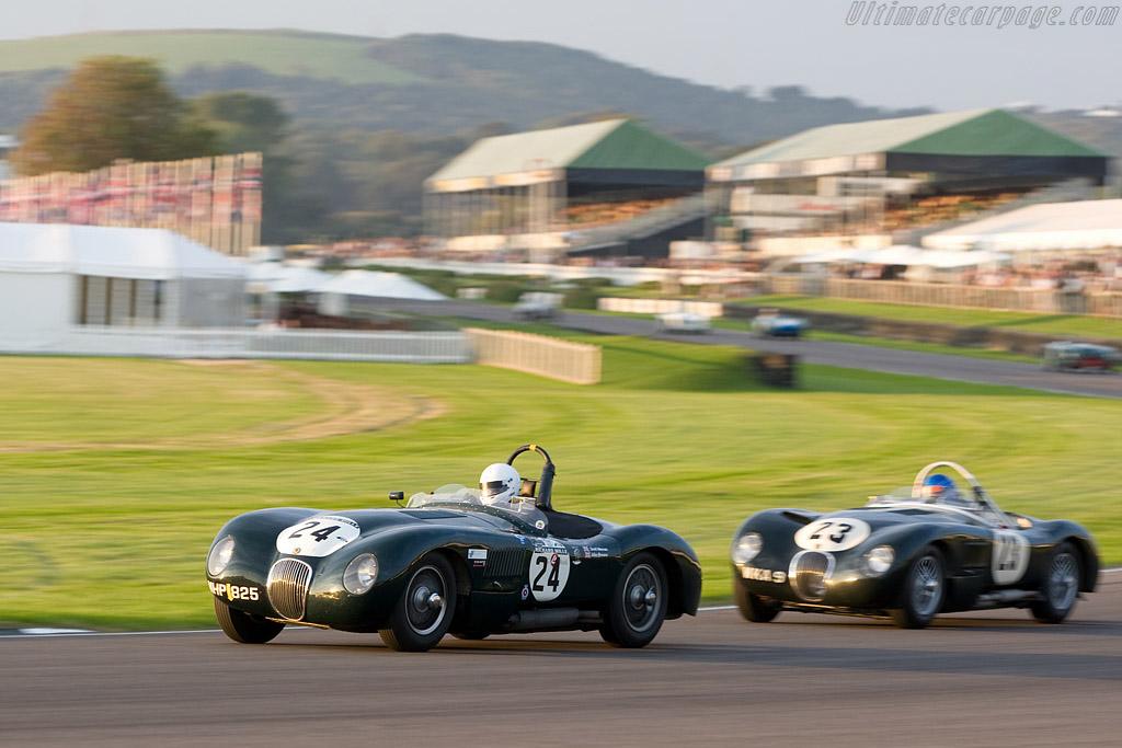 Jaguar C-Type    - 2008 Goodwood Revival