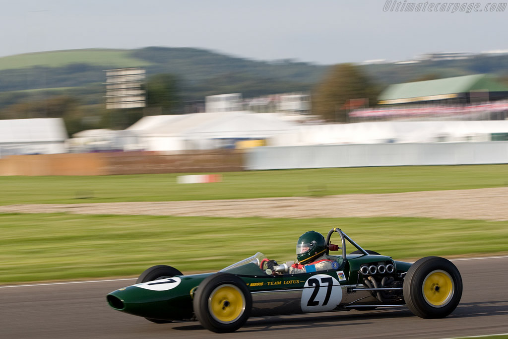 Lotus 27 Ford    - 2008 Goodwood Revival