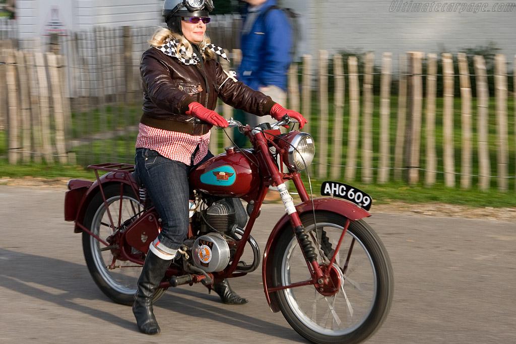 Motorcycle Display    - 2008 Goodwood Revival