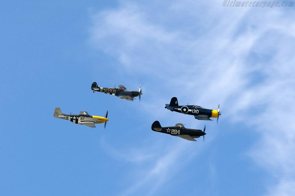 Mustang, Spitfire, Warhawk and Corsair    - 2008 Goodwood Revival