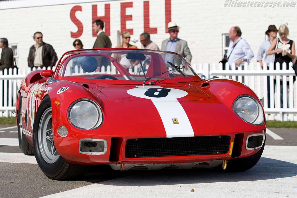 One of David Piper's Ferraris    - 2008 Goodwood Revival