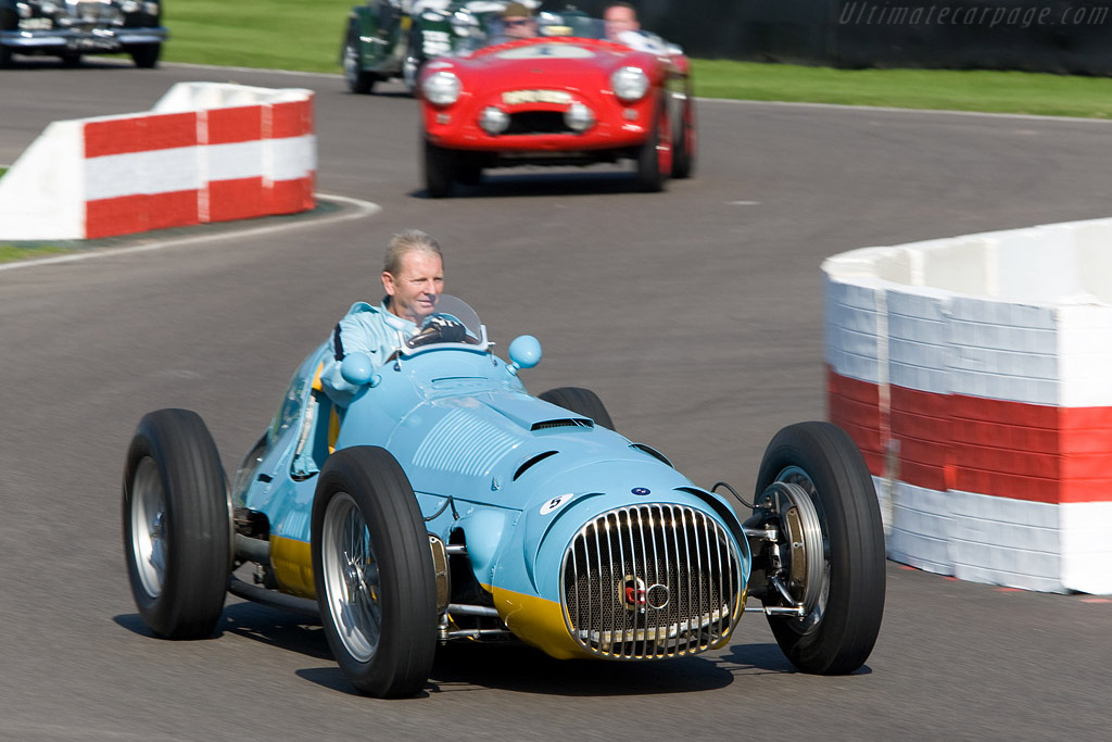Prince Birra's OSCA Maserati hybrid - Chassis: 1598   - 2008 Goodwood Revival