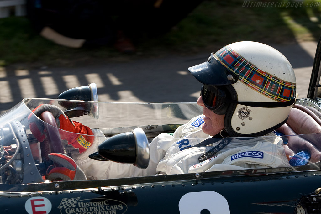 Sir Jackie won his first F1 race in this BRM    - 2008 Goodwood Revival