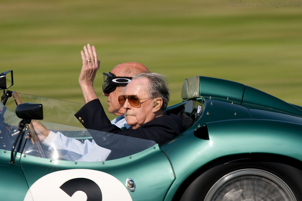 Sirs Stirling Moss and Jack Brabham    - 2008 Goodwood Revival