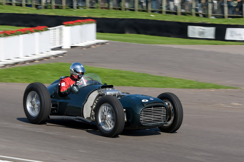 The impossibly complex BRM V16 only won at Goodwood - Chassis: Type 15 / 1   - 2008 Goodwood Revival