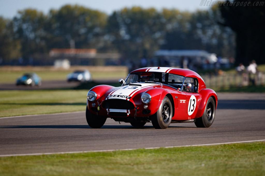 AC Cobra Le Mans Coupe - Chassis: CSX2130 - Entrant: Shaun Lynn - Driver: Shaun Lynn / Karun Chandhok - 2019 Goodwood Revival