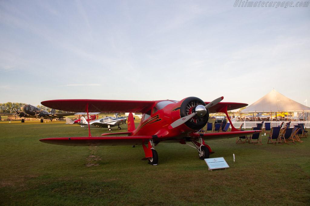 Beechcraft D-17S Staggerwing   - 2019 Goodwood Revival