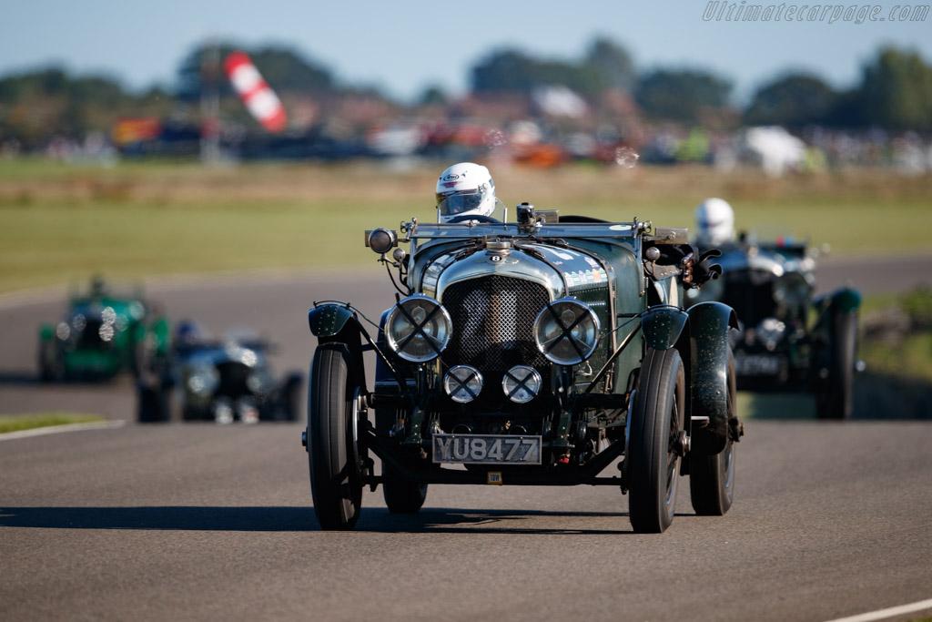 Bentley 4.5 Litre Le Mans - Chassis: RN3039 - Entrant: Martin Hunt - Driver: Theo Hunt - 2019 Goodwood Revival