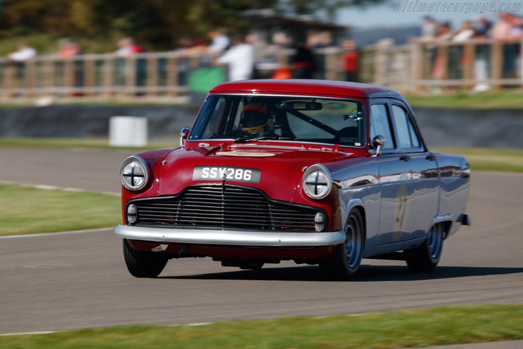 Ford Zodiac Mk II  - Entrant: Theo Paphitis - Driver: Karun Chandhok / Theo Paphitis - 2019 Goodwood Revival