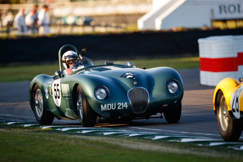 Jaguar C-Type - Chassis: XKC 004 - Entrant / Driver Nigel Webb - 2019 Goodwood Revival