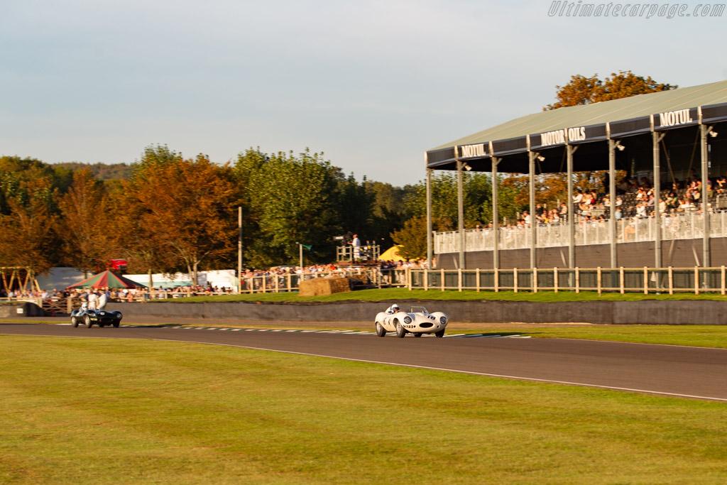 Jaguar D-Type - Chassis: XKD 517 - Entrant: Fica Frio Ltd - Driver: Gary Pearson - 2019 Goodwood Revival
