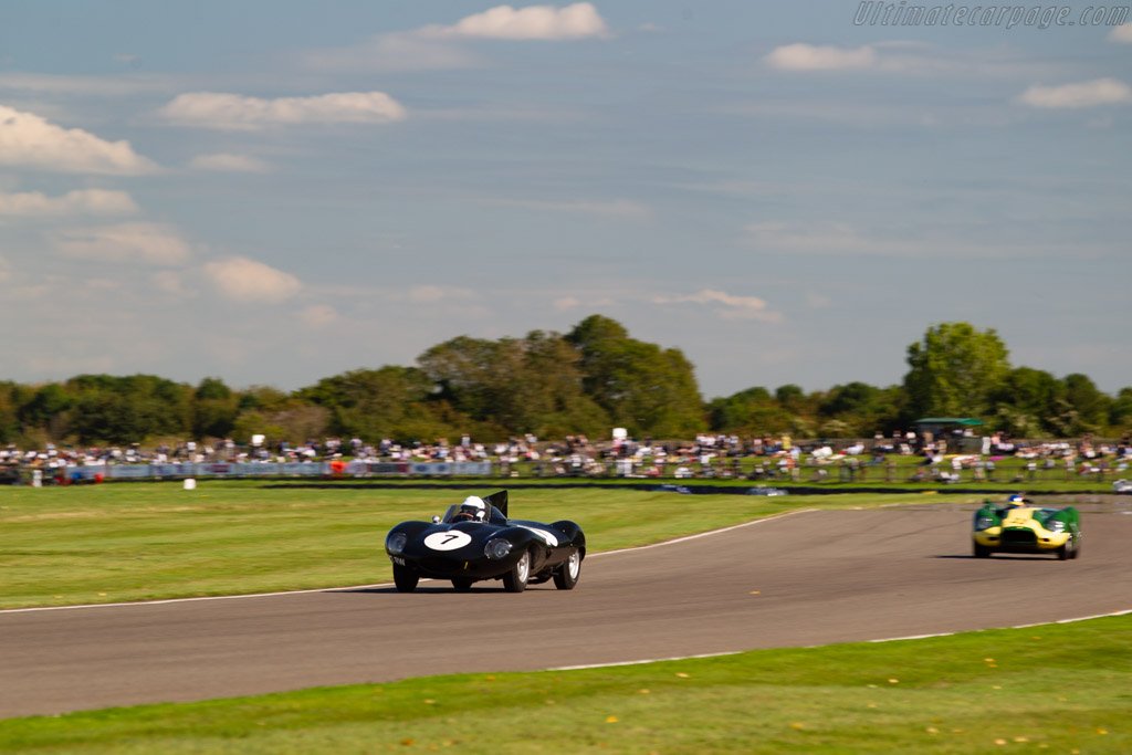Jaguar D-Type - Chassis: XKD 506 - Entrant / Driver Gary Pearson - 2019 Goodwood Revival