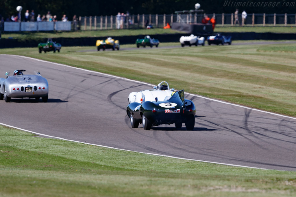 Jaguar D-Type - Chassis: XKD 604 - Entrant: Joe Macari - Driver: David Brabham  - 2019 Goodwood Revival