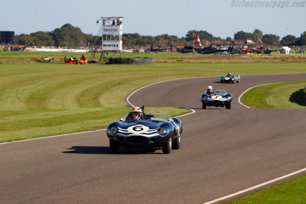 Jaguar D-Type Longnose  - Driver: Tom Kristensen - 2019 Goodwood Revival