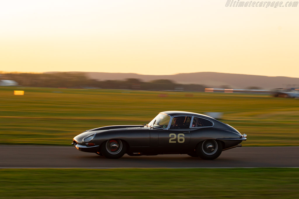 Jaguar E-Type - Chassis: 885214 - Entrant: John Young - Driver: John Young / Jack Young - 2019 Goodwood Revival