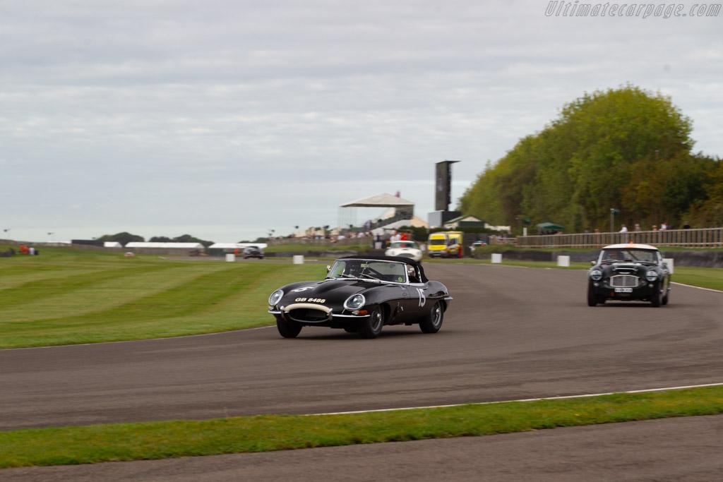 Jaguar E-Type - Chassis: 850008 - Entrant: Adam Lindemann - Driver: Adam Lindemann / Richard Meaden - 2019 Goodwood Revival
