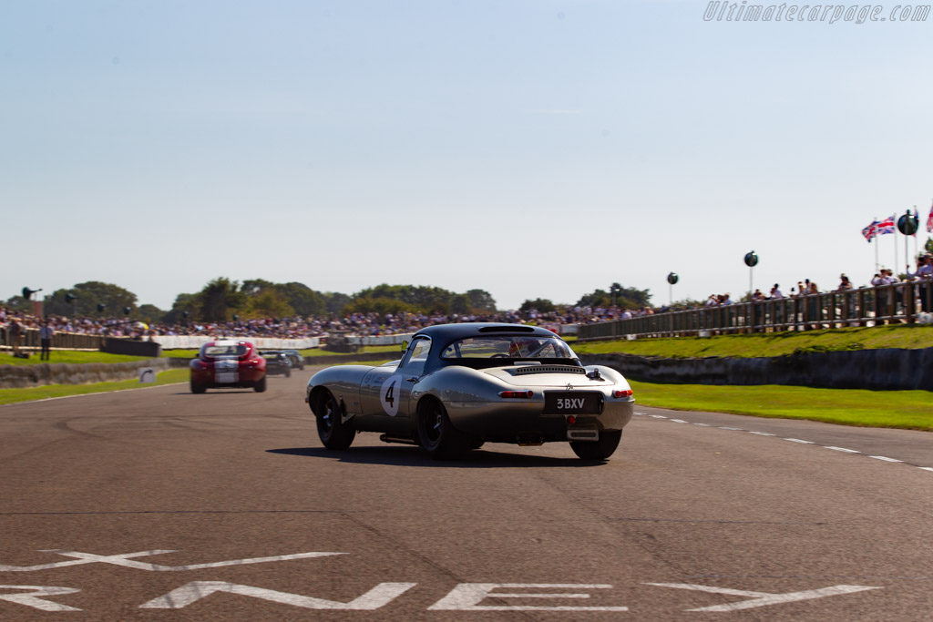 Jaguar E-Type Semi Lightweight - Chassis: 850010 - Entrant: Simon Hadfield - Driver: Joaquin Folch Rusinol /  - 2019 Goodwood Revival