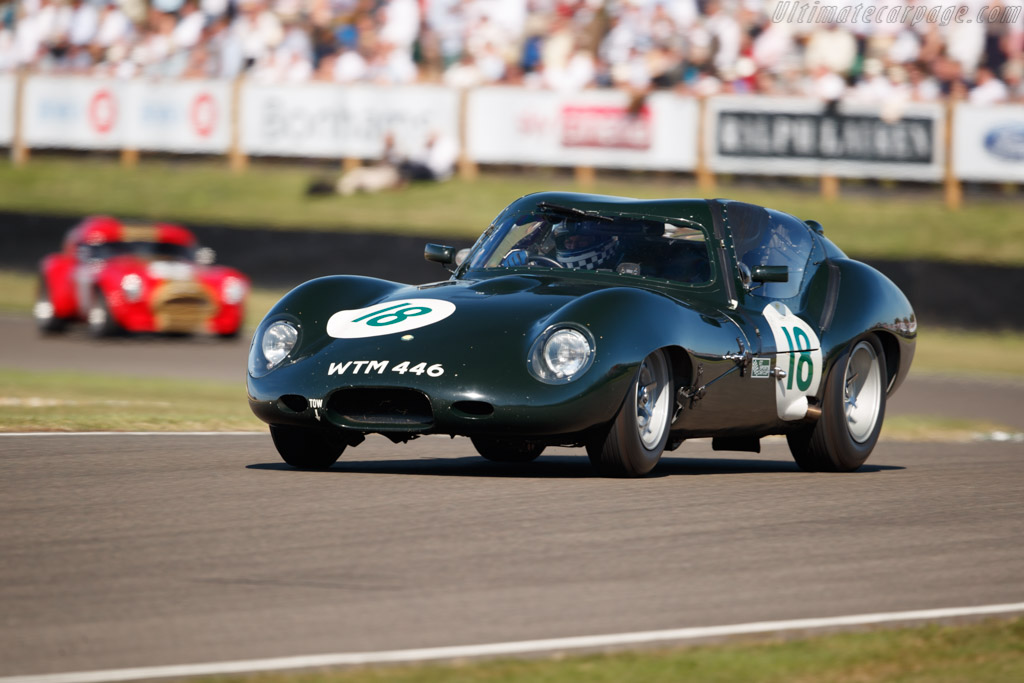 Lister Costin Coupe - Chassis: BHL 136 - Entrant: Fred Wakeman - Driver: Fred Wakeman / Benoit Treluyer - 2019 Goodwood Revival