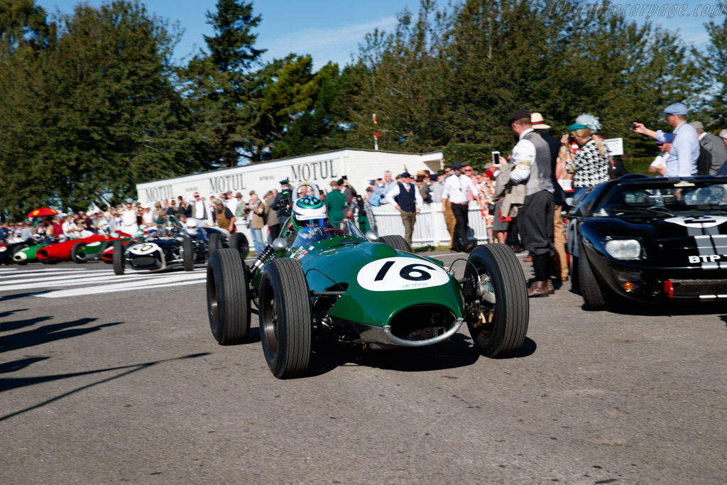 Lotus 16 - Chassis: 363 - Entrant: Max Smith-Hilliard - Driver: Nick Padmore - 2019 Goodwood Revival