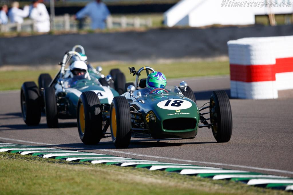Lotus 18 - Chassis: 372 - Entrant: John Chisholm - Driver: Sam Wilson - 2019 Goodwood Revival