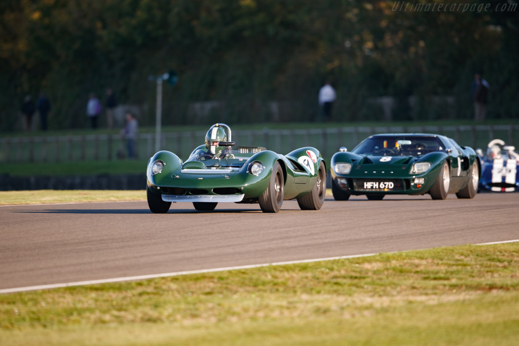 Lotus 30 - Chassis: 30/L/7 - Entrant / Driver Anthony Schrauwen - 2019 Goodwood Revival