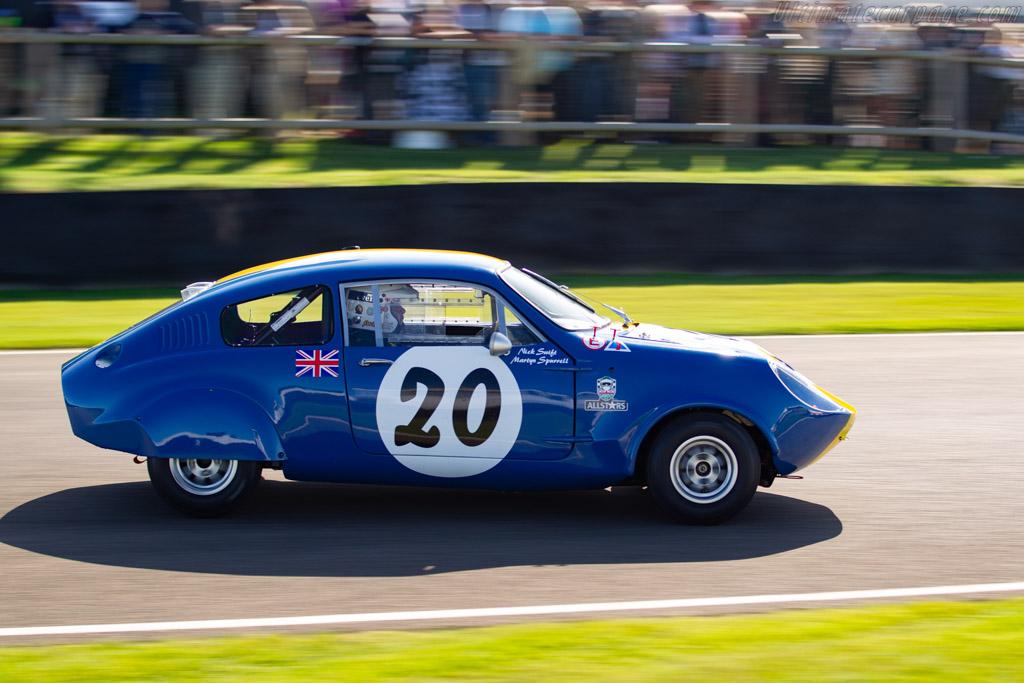 Marcos Mini Marcos  - Entrant: Martin Spurrell - Driver: Nick Swift - 2019 Goodwood Revival
