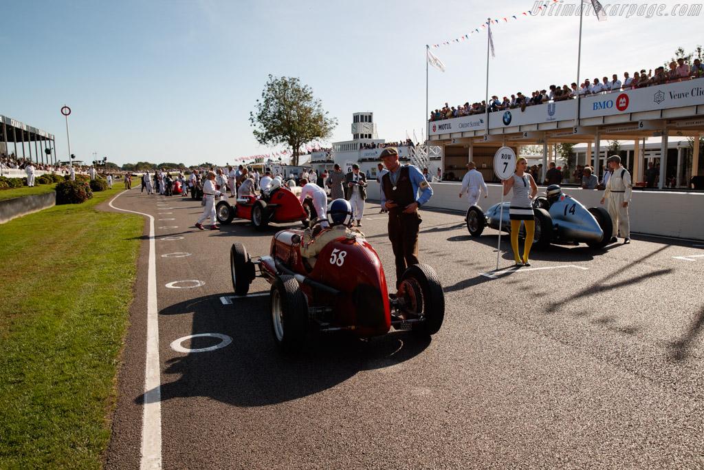Maserati 6CM - Chassis: 1532 - Entrant: Nigel Griffiths - Driver: Ewen Sergison - 2019 Goodwood Revival