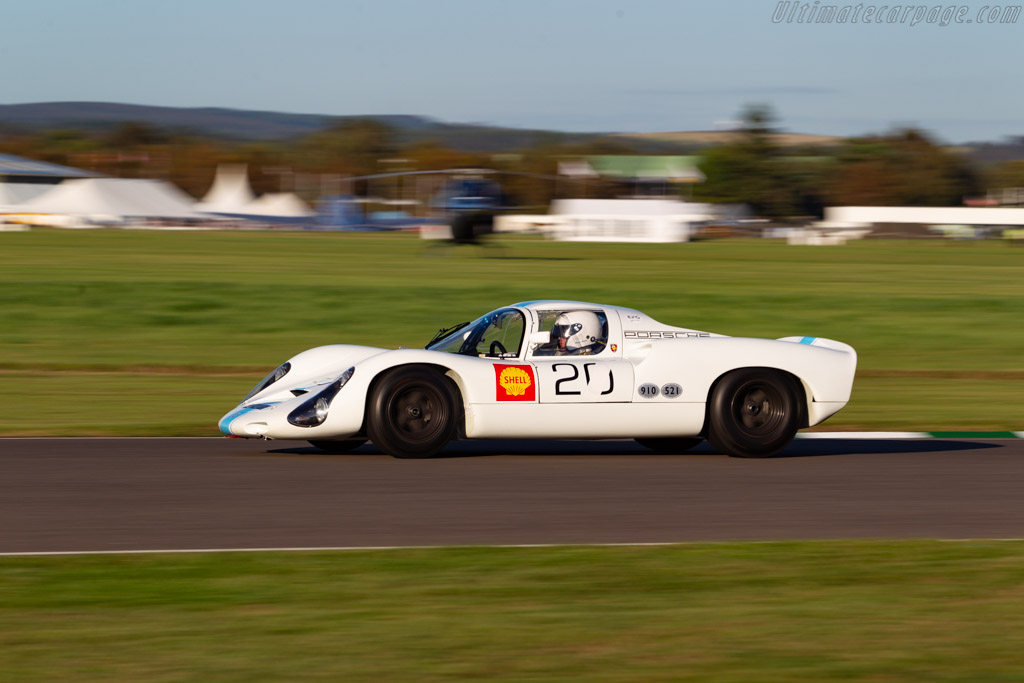 Porsche 910 - Chassis: 910-020 - Entrant / Driver Rainer Becker - 2019 Goodwood Revival