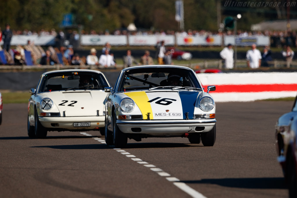 Porsche 911  - Entrant: Roger Penfold - Driver: Lee Maxted-Page - 2019 Goodwood Revival
