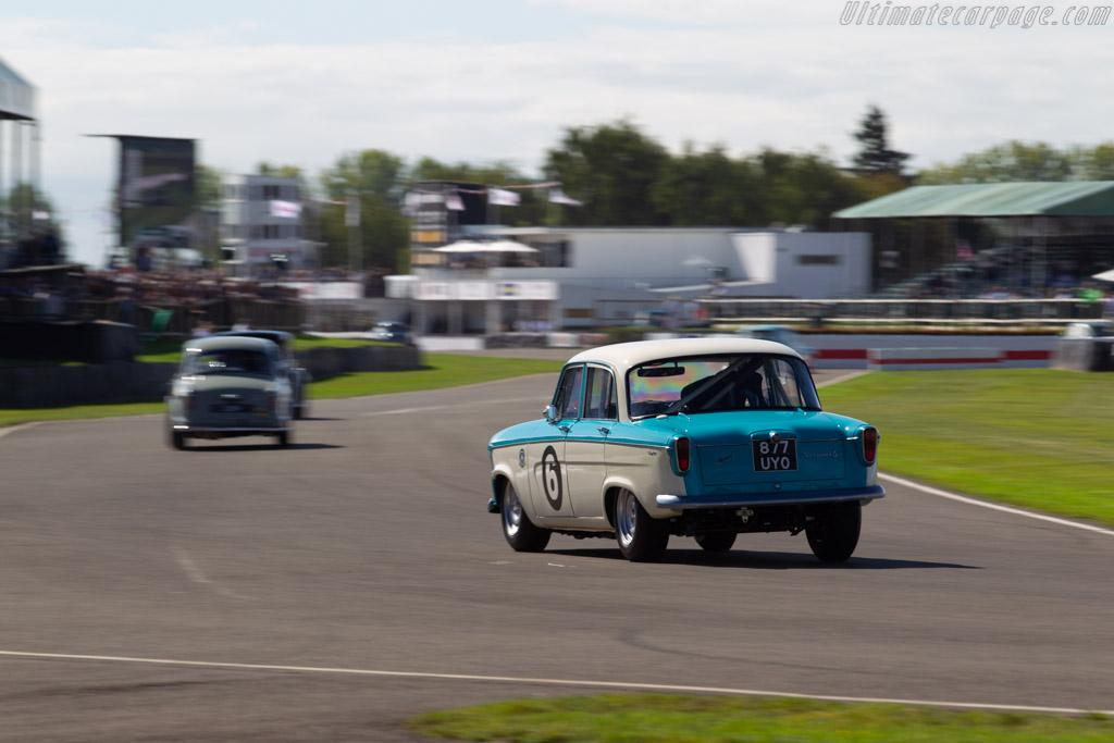 Standard Vanguard Six  - Entrant: James Colburn - Driver: Peter Dumbreck / James Colburn - 2019 Goodwood Revival