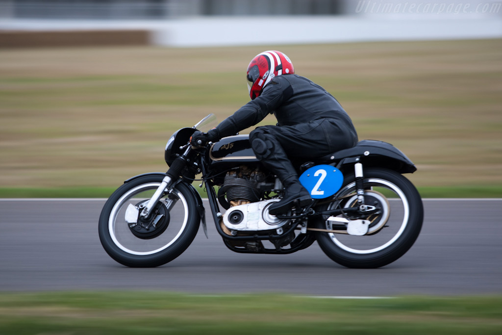 AJS 7R 350    - 2009 Goodwood Revival