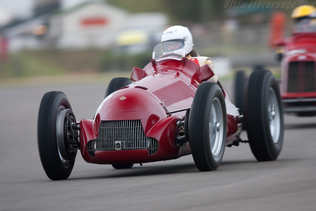 Alfa Romeo 158 'Alfetta' - Chassis: 159.107   - 2009 Goodwood Revival