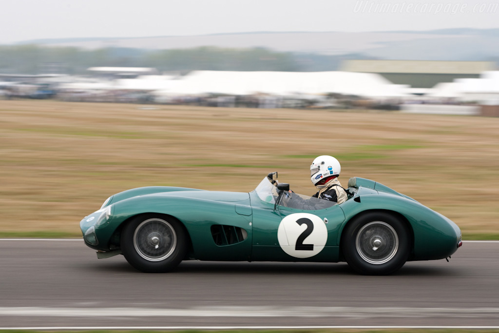 Aston Martin DBR1 - Chassis: DBR1/2 - Entrant: Harry Leventis - Driver: Stirling Moss  - 2009 Goodwood Revival