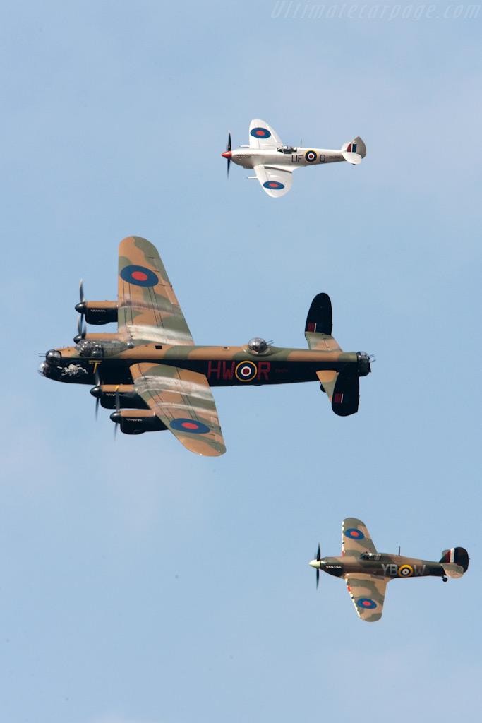 Battle of Britain Memorial Flight    - 2009 Goodwood Revival