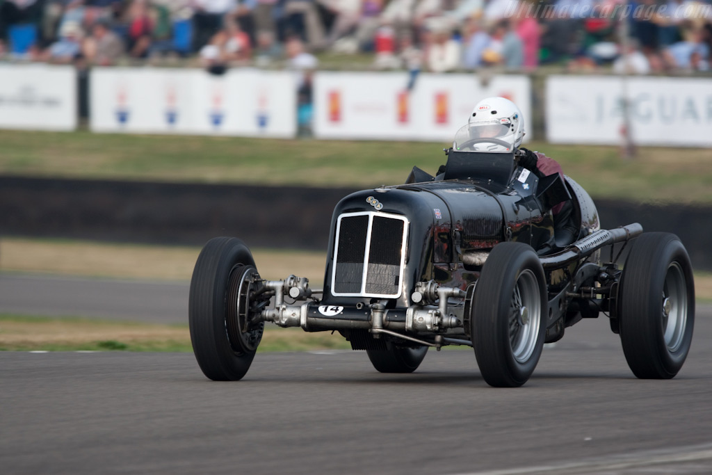 ERA R4D - Chassis: R4D   - 2009 Goodwood Revival