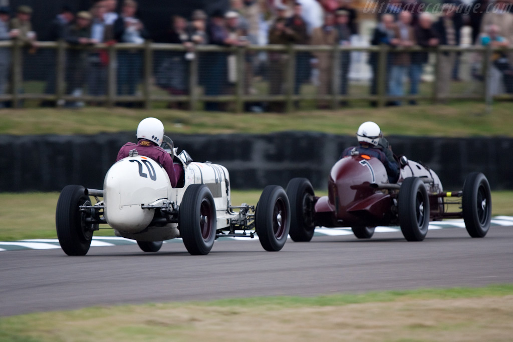 ERA R9B - Chassis: R9B   - 2009 Goodwood Revival