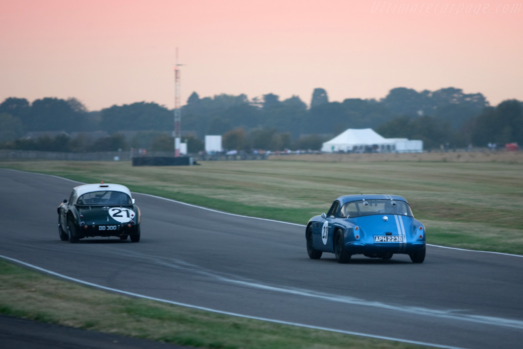 Fight for the lead    - 2009 Goodwood Revival