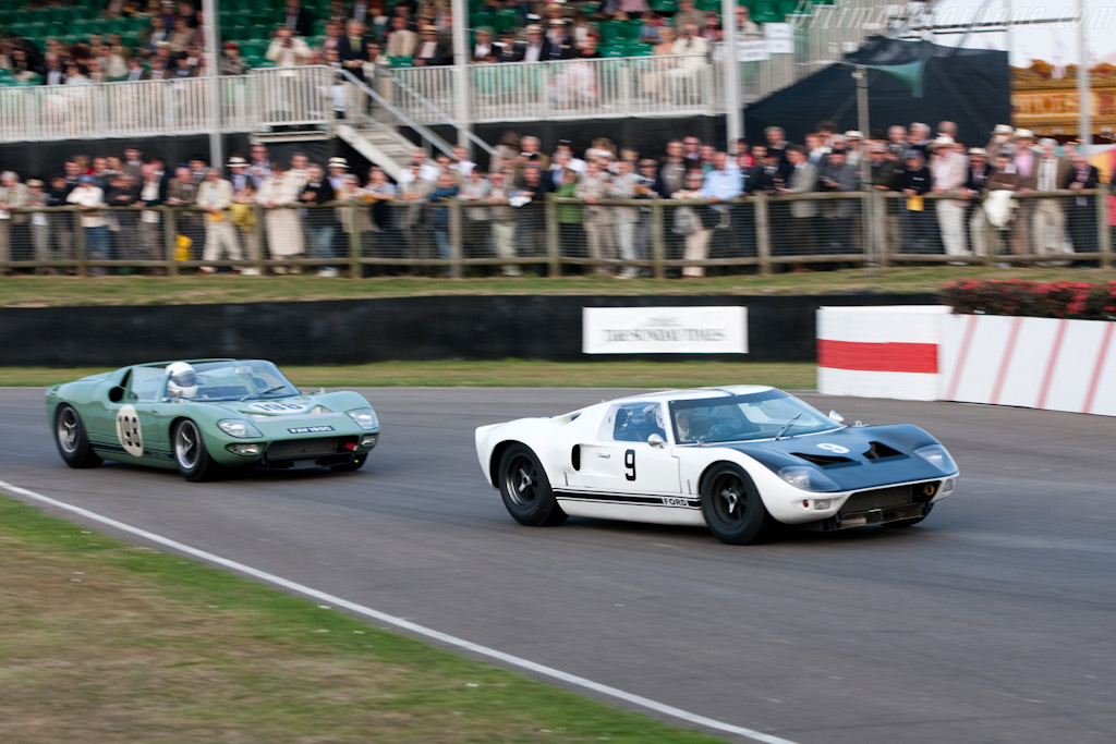 Ford GT Coupe and Roadster - Chassis: GT/105   - 2009 Goodwood Revival